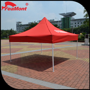 Custom printed cheap outdoor Waterproof PVC Cover 4x4 canopy tent