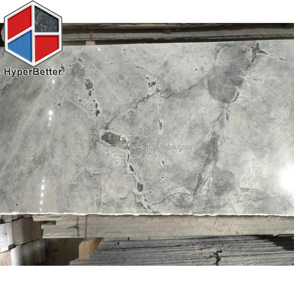 Galaxy grey marble slabs