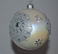 Inside Clear Glass Ball Decorating Christmas Tree Decoration Ornament
