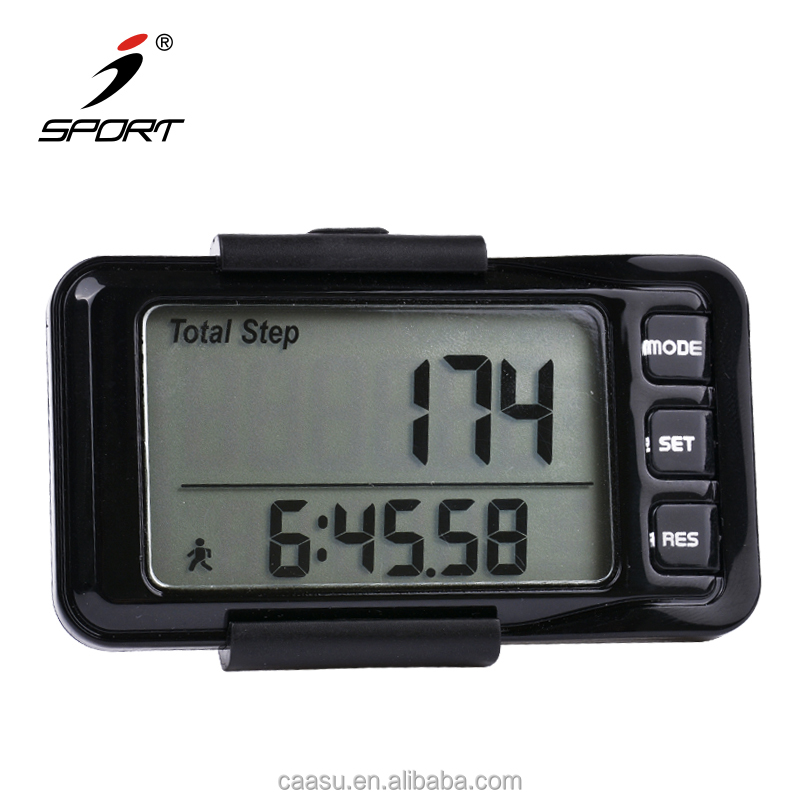 Clean And Straightforward Layout 48*29mm LCD Screen Pedometer