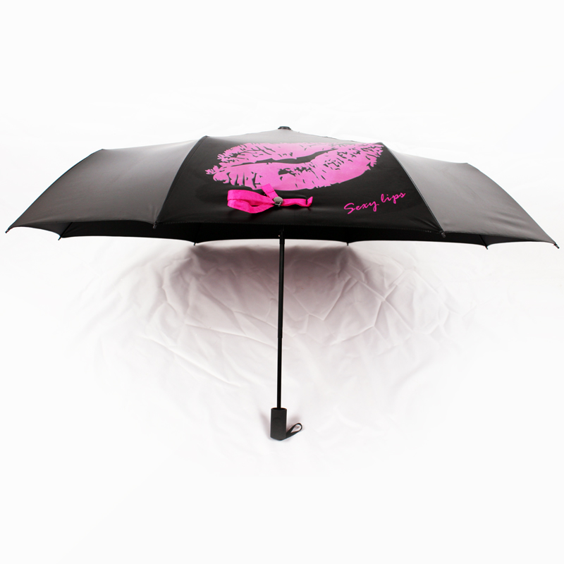 3 fold magic color changing umbrella when wet