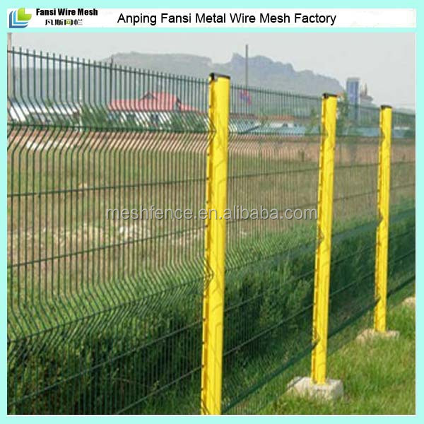 Used Cheap Fence For Sale Green Pvc Coated Wire Mesh Fence Panels ...