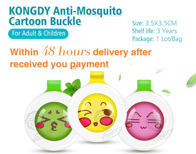 Best design hot sell wholesale pest control natural mosquito repellent buckle