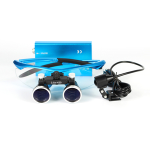 Binocular dental Surgical loupe with headband Dental Instruments