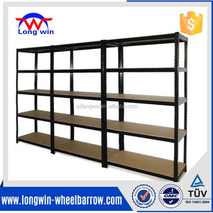 Garage Steel Metal Storage 5 Level Adjustable Shelving Rack