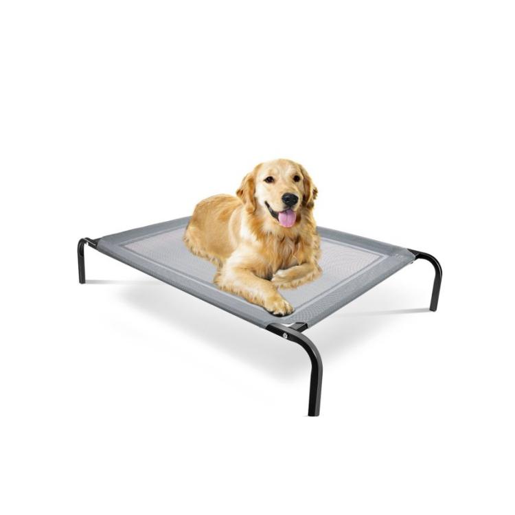 Lounger นอนเปลญวนโลหะสูงสุนัข, สัตว์เลี้ยงยกระดับเตียง