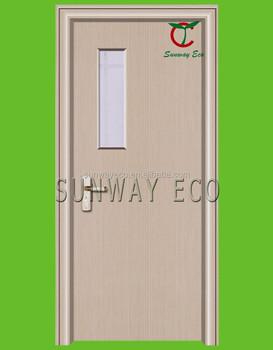 2015 New Design Pvc Door With Glass Window For Iraq Iran Market ...