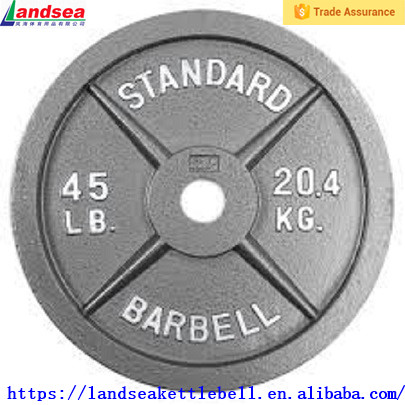 Crossfit cast iron weight plate