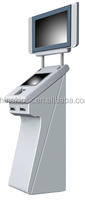 Signature Capture maintenance kiosk panel for check validator
