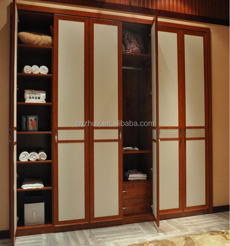 Diseño moderno 5 puerta muebles armario ropa-Guardarropas ...