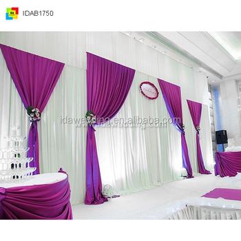 Simple wedding showing platform fancy design decor curtain fabric simple wedding showing platform fancy design decor curtain fabric floral designs junglespirit Gallery