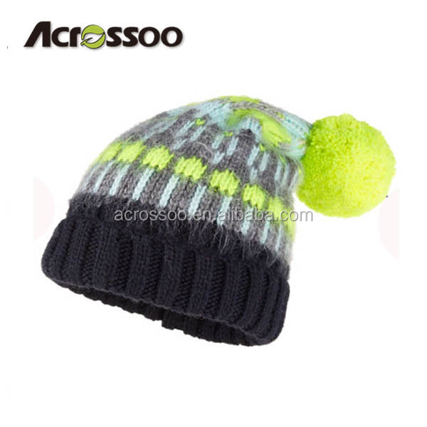 Beanie Hats With Top Ball, Beanie Hats With Top Ball Suppliers and  Manufacturers at Alibaba.com
