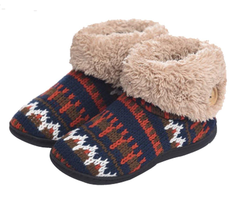 6bbec44c9702 Get Quotations · C wait Womens Warm Boot Slippers Indoor Outdoor Slippers  Winter Shoes