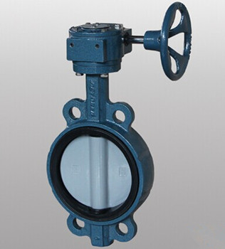 Grey Iron Wafer Butterfly Valve Gearbox Price For Water Pipeline ...