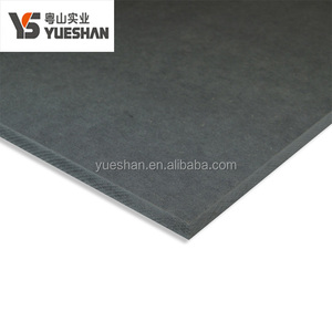 China Plant 9mm 18mm Black Color HMR MDF board