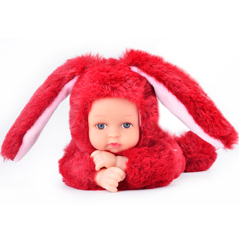 UCanaan Plush Stuffed Toys for Children Kawaii Soft 6 Colors <strong>Rabbit</strong>/Bear Best Birthday Gifts for Friends Doll Reborn