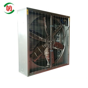 Industrial ventilation swing drop hammer exhaust fan