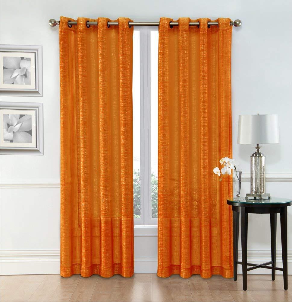 Burnt Orange Curtain Panels Find