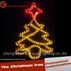 LED color rainbow tube Christmas tree pattern lamp LED Festival Christmas light string