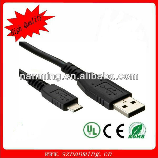fashion type usb male to micro usb adapter cable