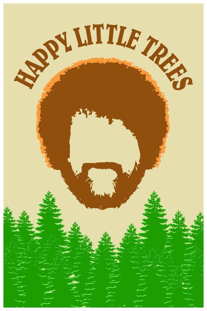 happy little trees - 683×1024
