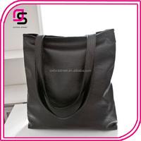 2017 fahsion latest popular big shoulder handbag soft leather bag