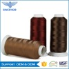 China manufacturer 840d 2 high tenacity sewing thread of polyester
