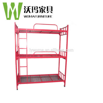 High Quality Used Red Triple Bunk Beds For Sale Buy Triple Bunk