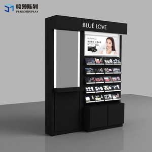 cosmetic display cabinet and showcase,cosmetic display counter,cosmetic counter design