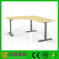 Height Lifting Office Desk Adjustable Working Table Height Adjustable Lifting Desk With Good Quality