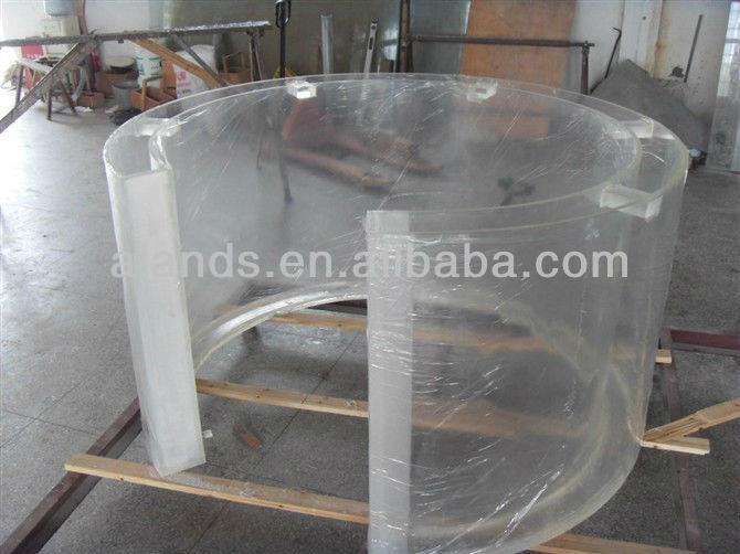 Custom Made Round Acrylic Fish Tank
