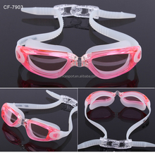Hot sale swimming goggles with anti-scratch function