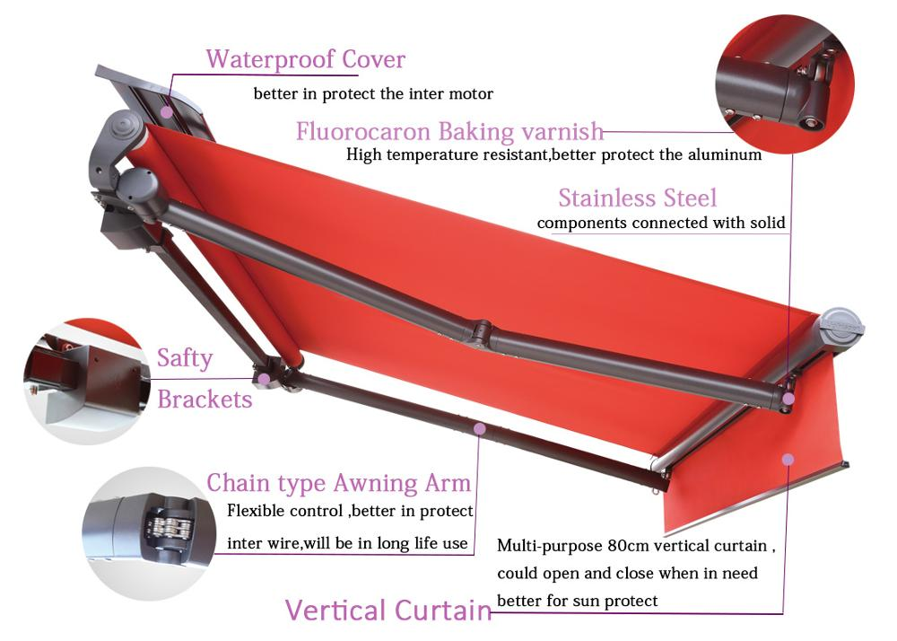 Retractable Door Awning - Buy Retractable Awning,Door ...