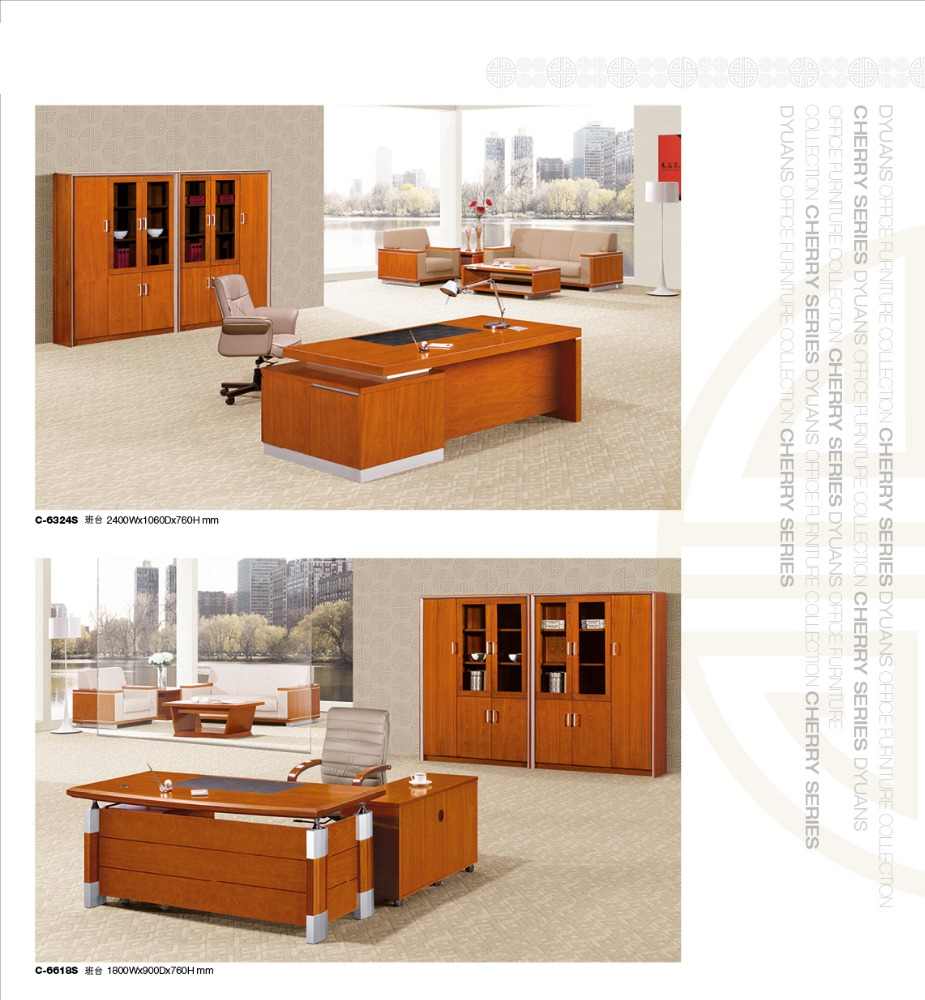 yellow cherry executive office director table factory sell directly DYC11