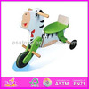 2015 New Kids wooden tricycle,popular lovely wood bike,hot sale good baby tricycle wholesale (WJY-8302)
