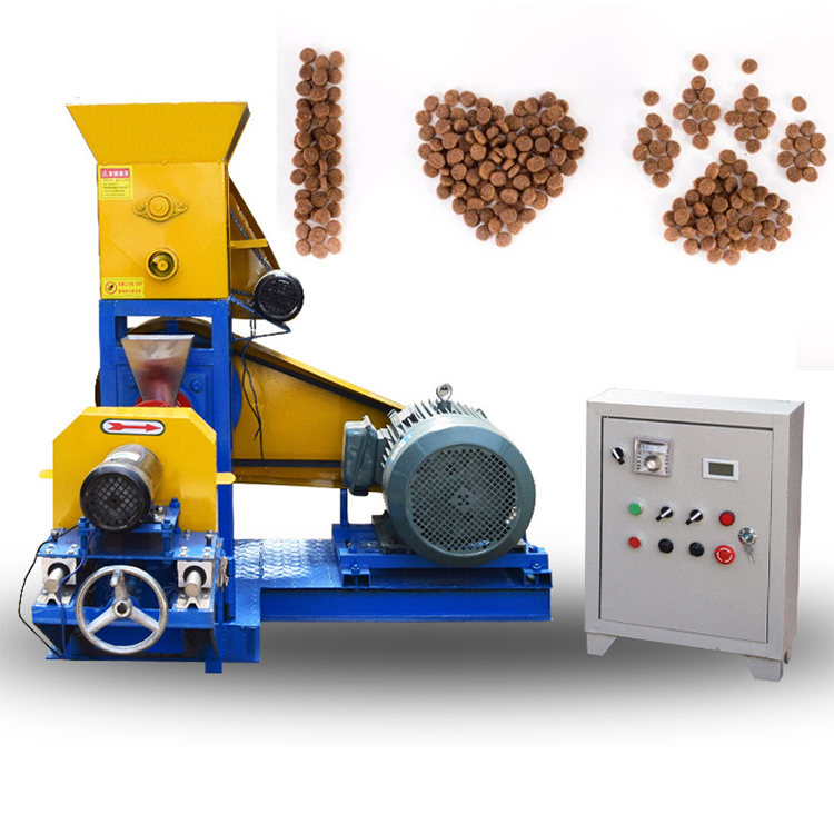 Small pet food extruder machines With Low price