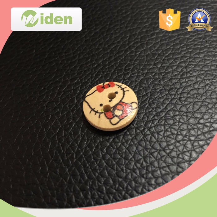 Customized Colorful Round Wooden Button Natural Wood Button for Garments