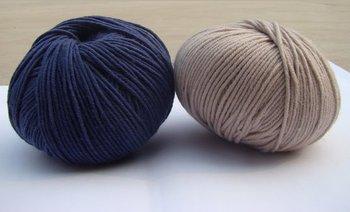 Dyed Wool Yarn,1.6nm/1 Hand Knitting Yarn