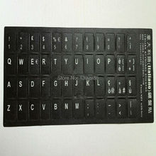 50pcs Italian Letters Alphabet Learning Keyboard Layout Sticker For Laptop Desktop Computer Keyboard 10 inch Or Above Tablet PC