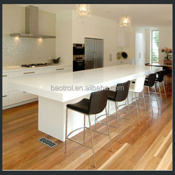 High Quality White Simple Kitchen Furniture Small Bar Counter