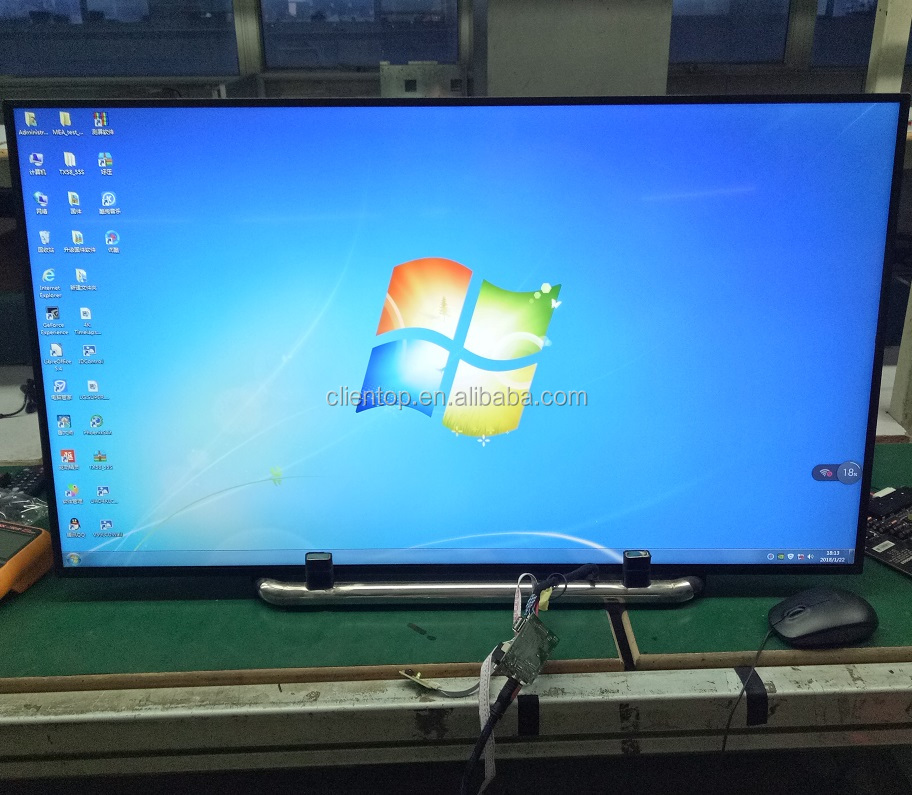 Auo b101aw03 싼 a-Si TFT LCD 39 inch V390DK1-LS1 4 k 3840*2160 120 hz LVDS controller panel