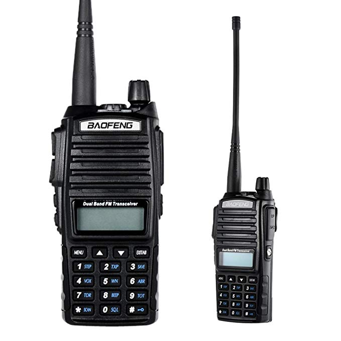 Handy Talkie Pofung BF UV 82 UV-82 HT Rádio Walkie Talkie
