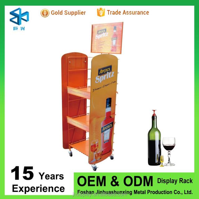 Metal 3 Layers Water Bottle Storage Rack/wine Rack/beer Bottle Rack
