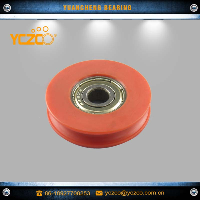 YCZCO Egypt good sale curtain truck pulley with nylon