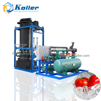 Koller 10TPD Commerical Ice Tube Machine