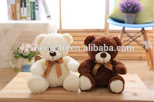 free sample bear toy/Origin Plush toy Manufacture Custom Teddy Bear with Different Colors T-shirt/hot selling plush bear toy