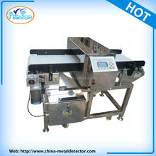 Food safety regulation conveyor belt metal detector
