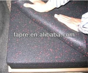 Rolled Granulate Gym Rubber Flooring Mat for Sport with EPDM