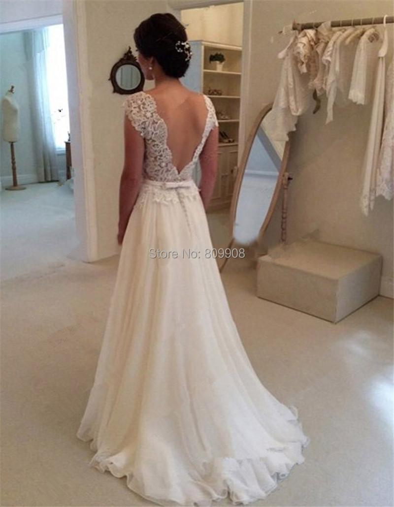 92df431ee5 Vestidos de novia espalda descubierta con encaje – Vestidos baratos