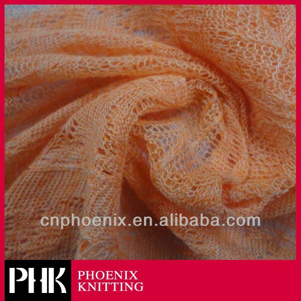 polyester viscose mohair blend sweater knit fabric